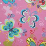 Roleta - kolorowe motyle