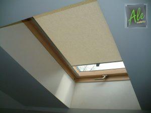 Roleta materiałowa dachowa