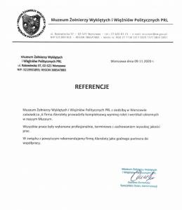 Referencje MZWiWPPRL