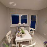 Plisy w oknach i drzwiach balkonowych
