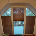 Plisy w oknach - trapez