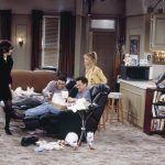 Mieszkanie Chandlera - żaluzje