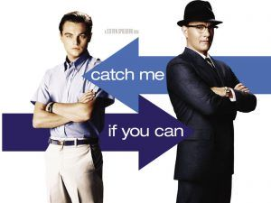 Catch me if you can -plakat