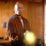 Pulp Fiction - żaluzje w drzwiach