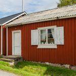 Szwecja - drewniane okiennice