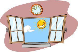 Słońce w oknie - lato